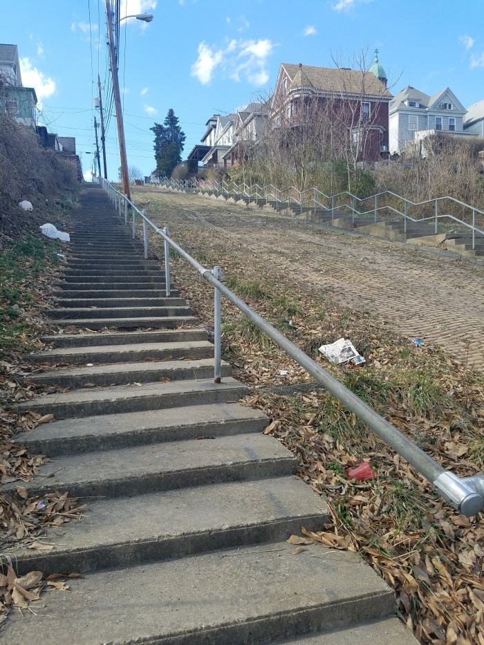 The 5th Street Stairs: A Sweet Story